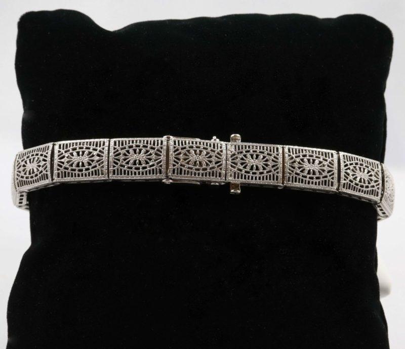 Fermoir-bracelet-or-gris