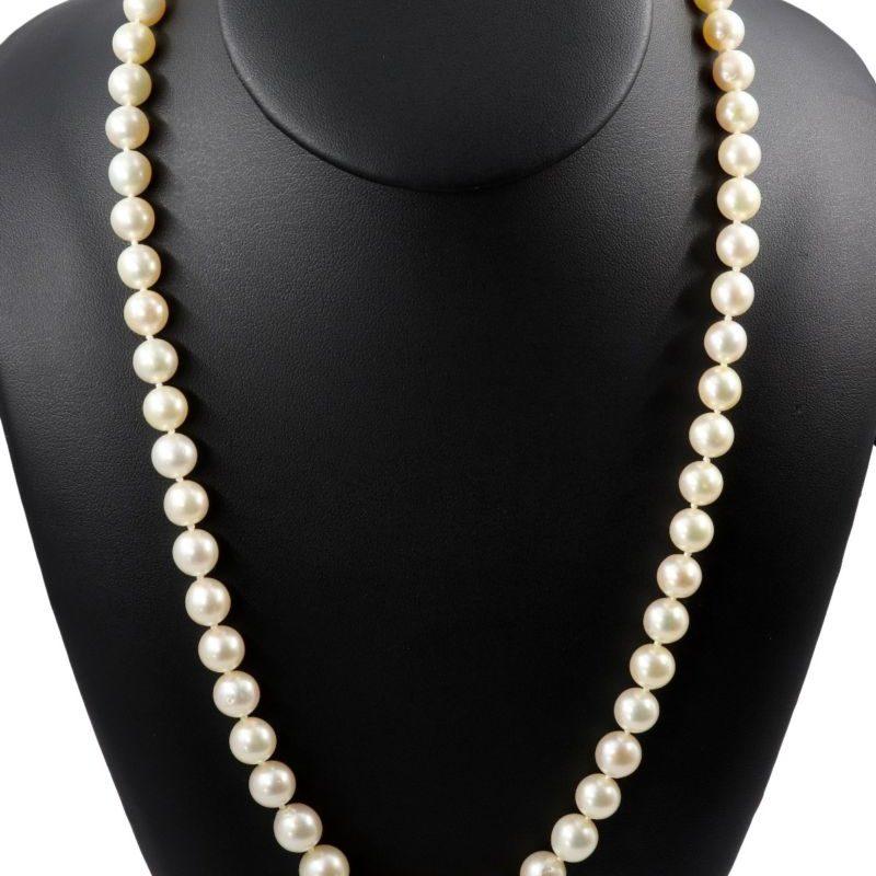 Sautoir perles de cultures