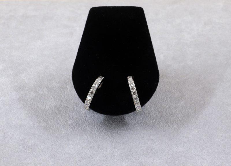 Créoles diamants
